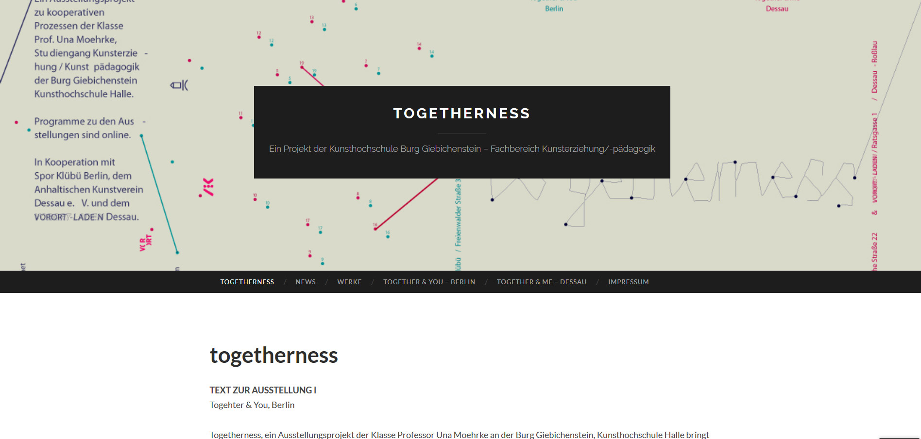 Togetherness Berlin und Dessau