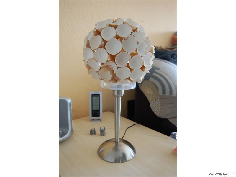 DIY Eierlampe